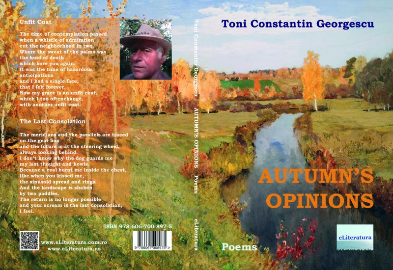 Autumn's Opinions, a poetry volume by Toni Constantin Georgescu